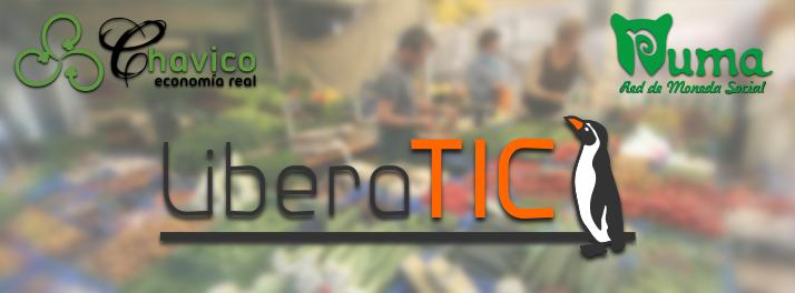 LiberaTIC colabora con grupo de consumo de la moneda social Puma