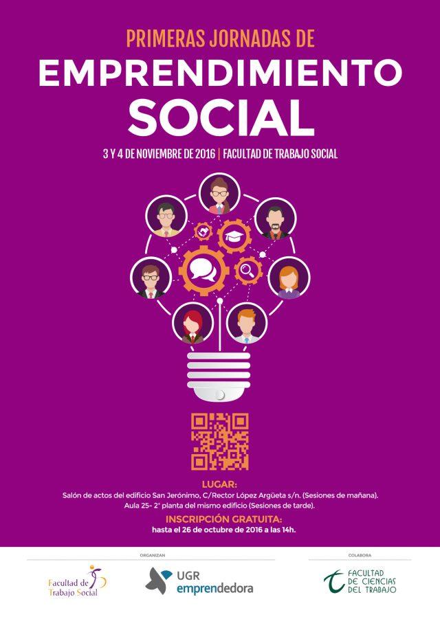 Cartel Jornadas de Emprendimiento Social